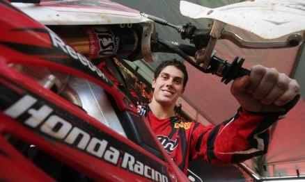 Em 2009 Swian foi o melhor brasileiro na categoria MX2
