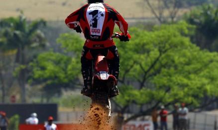 Cristiano Lopes chegou em segundo na MX3 em Monte Alto