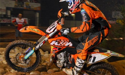 Taddy é líder do AMA EnduroCross