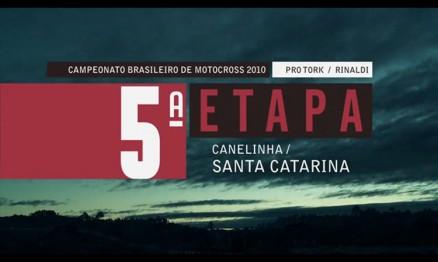 Programa do Brasileiro de Motocross em Canelinha