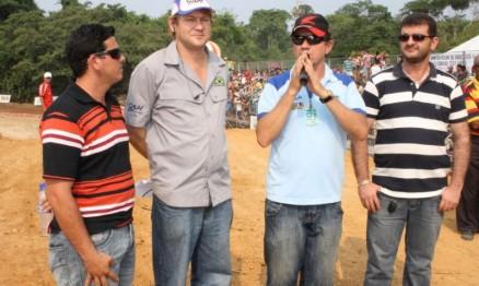 Presidente Reinaldo agradeceu o apoio ao campeonato