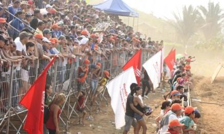 Um grande público prestigiou a etapa de Jaru