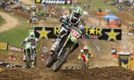 Pourcel é o líder do AMA Motocross 250 2010