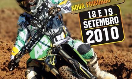 Cartaz de divulgação do Brasileiro de Motocross