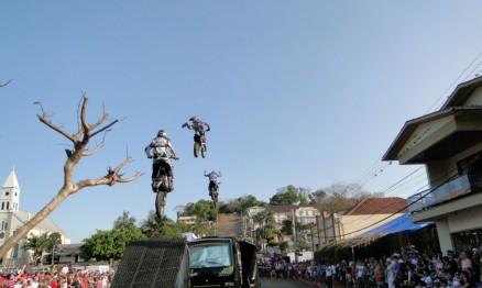 A Pro Tork Freestyle fez show em Aratiba