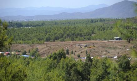 Visual do local da etapa do GP da Turquia do Mundial de Enduro
