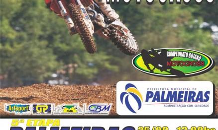 Cartaz de divulgação do Goiano de Motocross