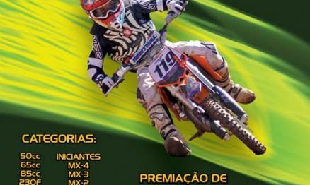 Cartaz de divulgação da Copa Pimonte de Motocross