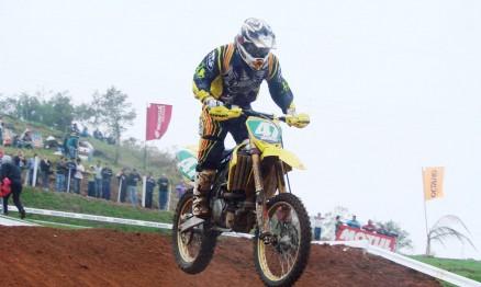 Walter Tardim ficou em terceiro na categoria MX3