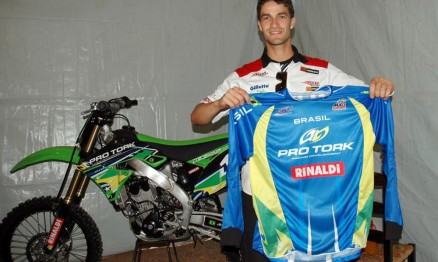 Pipo com a camisa do Team Brasil para o MXDN 2010
