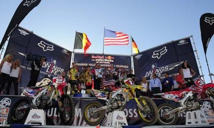 O time americano festejou a conquista do MX das Nações 2010
