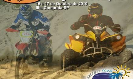 Cartaz de divulgação do Brasileiro de Rally Baja