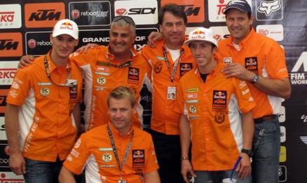 Diretoria da KTM anunciou em Lierop a contratação de DeCoster