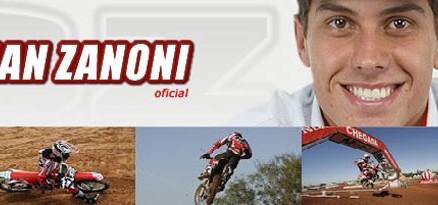 Logo do site oficial do Swian Zanoni