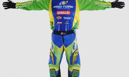 Uniforme do Team Brasil MXDN 2010