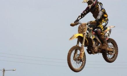 O campeão Evandro venceu na MX3 em Alvorada