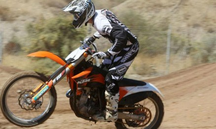PJ Larsen já treina com a KTM para o AMA Supercross 2011