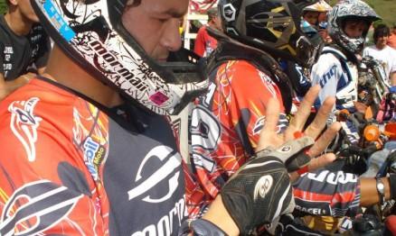 O catarinense Pipo está perto do título do Mineiro de MX 2010