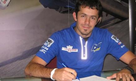Julien Gauthier assinou contrato com a TM para 2011