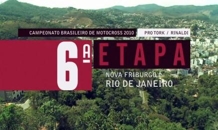 Programa do Brasileiro de Motocross em Nova Friburgo