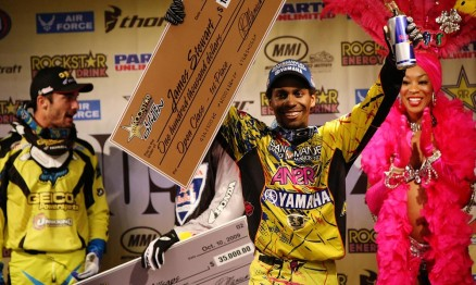 James Stewart foi o vencedor do US Open Supercross 2009
