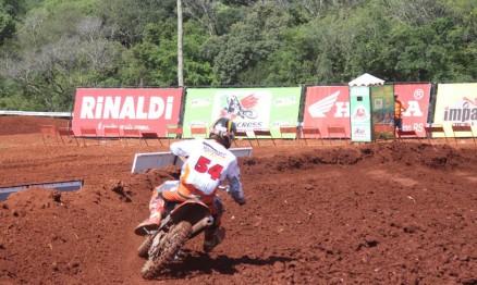 Carlos Nazysta venceu a categoria MX3 em Marau