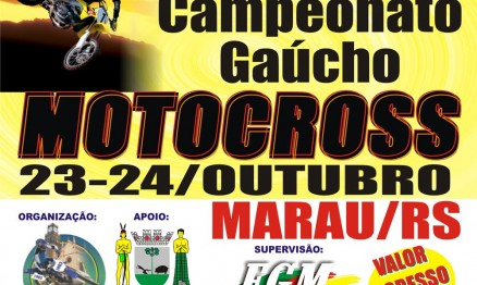 Gaúcho de Motocross segue neste domingo em Marau