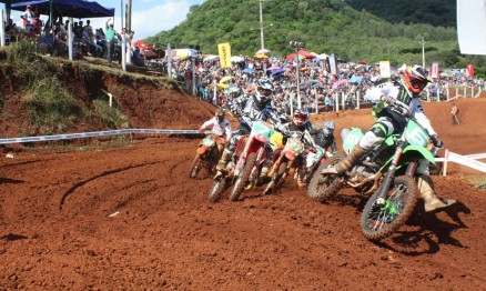 Largada da categoria Intermediária MX1