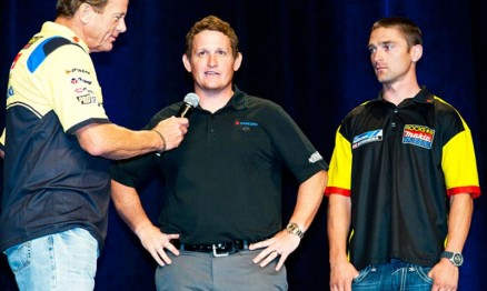 Mike Webb, Ricky Carmichael e Brett Metcalfe