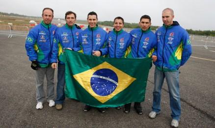 Equipe brasileira conheceu a pista do SM das Nações 2010