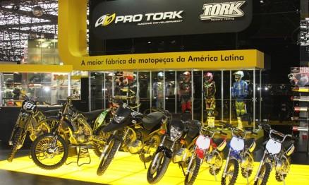 Pro Tork é destaque no Salão da Motocicleta