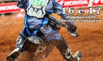 Cartaz de divulgação do Paranaense de Motocross
