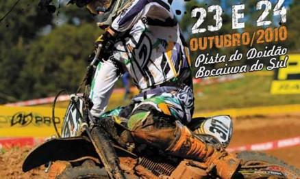 Cartaz de divulgação do Paranaense de Velocross