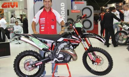 O campeão Felipe Zanol é patrocinado pela Rinaldi