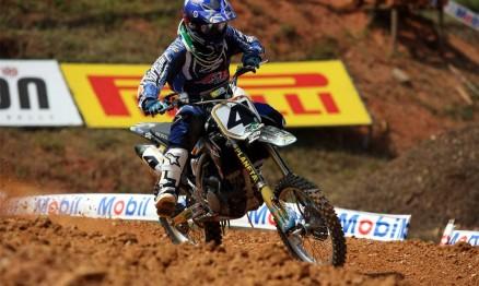 Anderson Amaral venceu na categoria para motos 150 4T