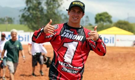 Swian é o campeão da Superliga de Motocross na MX2