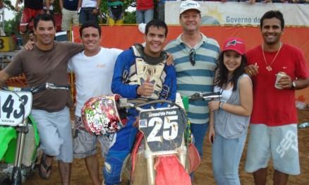 Bruno de Paula feliz da vida com o título na MX2
