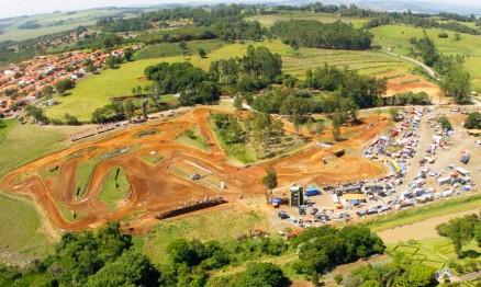 Vista aérea do Centro de Treinamento da Pro Tork