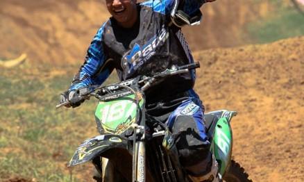 Davis é o novo campeão Brasileiro de Motocross na MX3