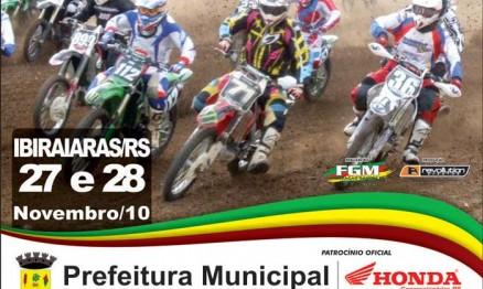 Cartaz de divulgação do Gaúcho de Veloterra em Ibiraiaras