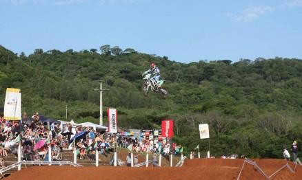 Duda Parise é líder do Gaúcho de Motocross na MX1 e na MX2