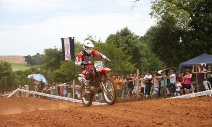 Zottis venceu sua primeira no Gaúcho de MX em 2010