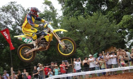 Walter é o líder do Gaúcho de Motocross na categoria MX3