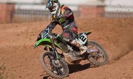 Ryan Villopoto é piloto da equipe oficial Monster / Kawasaki