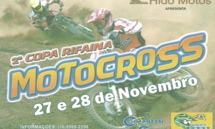 Cartaz de divulgação da Copa Rifaina de Motocross