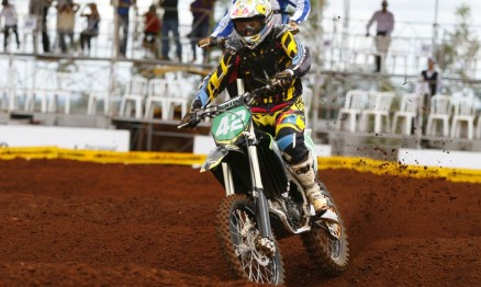Nico Rocha continua na briga pelo título paraguaio na MX3