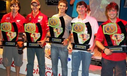 Todos campeões do nacional de Enduro 2010 são capixabas