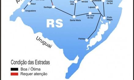 Veja como chegar a Porto Xavier