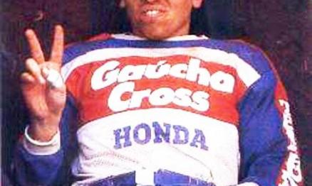 Moronguinho na etapa de Londrina do Brasileiro de MX em 1983