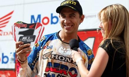 Marronzinho conquistou o título da Superliga na MX1
